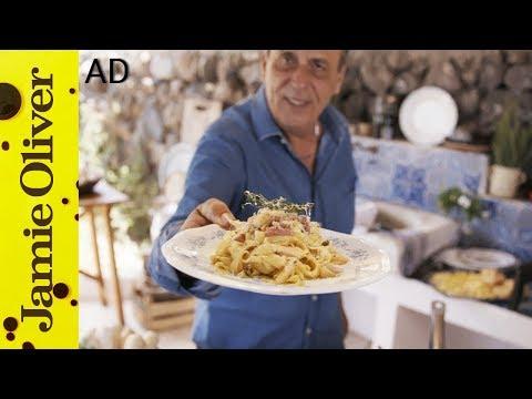 Parsnip and Pancetta Tagliatelle | Gennaro Contaldo - AD