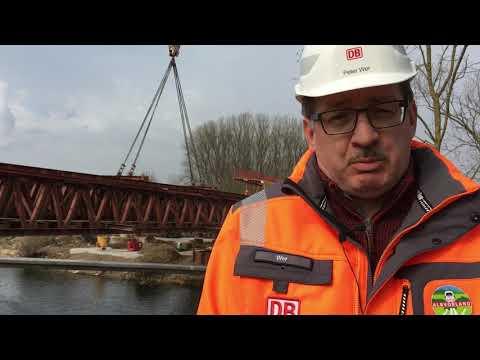 Wendlingen: Neckarbrücke auf ICE Neubaustrecke