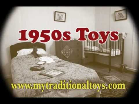 antique Toys 1950's - This video shows toys that children would have played with in the 1950s. You can still buy vintage toys today, or modern toys based on the 1950s originals. A...