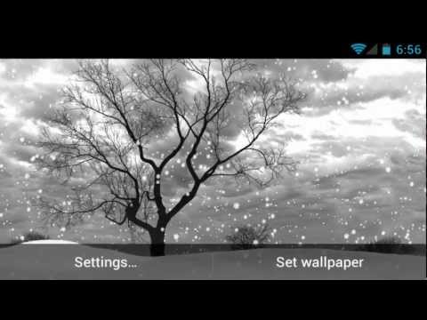 Video of LonelyTree Live Wallpaper Demo
