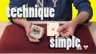 Tuto Magie - Faire remonter une carte - YouTube