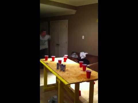 beer pong dunks