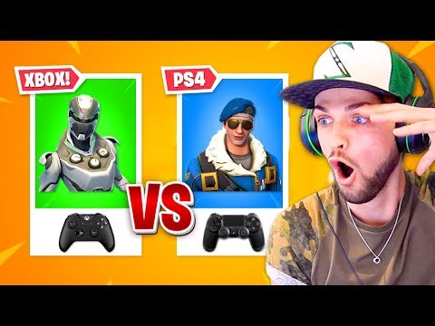 Fortnite PS4 vs XBOX players - WHO'S BETTER? - Thời lượng: 12 phút.