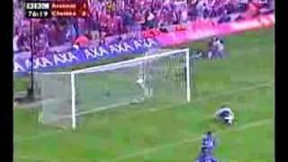 Fredrik Ljungbergs Sololauf gegen Chelsea