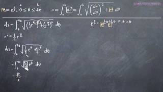 Polar Parametric Curve - Arc Length