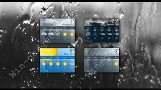 https://www.youtube.com/watch?v=pwyJxmAXaPA MSN weather - sidebar gadget (Windows 7) Информер погоды MSN weather...