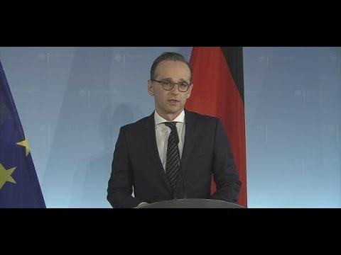 "Außenminister Heiko Heiko Maas: ""Angriff war ein an ..."