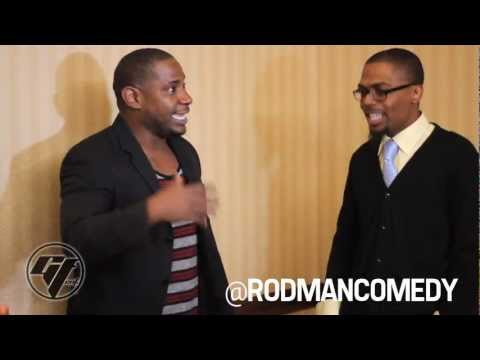 DJ Leezy interview w/ comedian Rodman at LOL Comedy Show