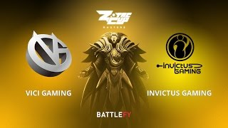 Vici Gaming vs Invictus Gaming, Game 2, Zotac Cup Masters, CN Qualifier