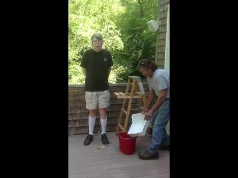 Stephen King & George Bush Completes ALS Challenge