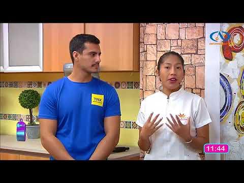 Junto a nuestra nutricionista en el matinal de Antofagasta Television