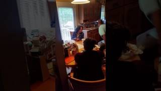 My Mothers and Father reaction to her mom mother day gift 2017.