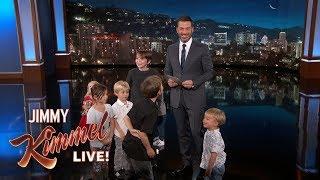 Video Kids Write Jokes for Jimmy Kimmel MP3, 3GP, MP4, WEBM, AVI, FLV Juni 2018