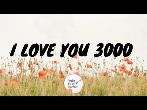 I LOVE YOU 3000 - STEPHANI PUTRI (Lirik) Cover by Agatha Chelsea | Baby Take My Hand