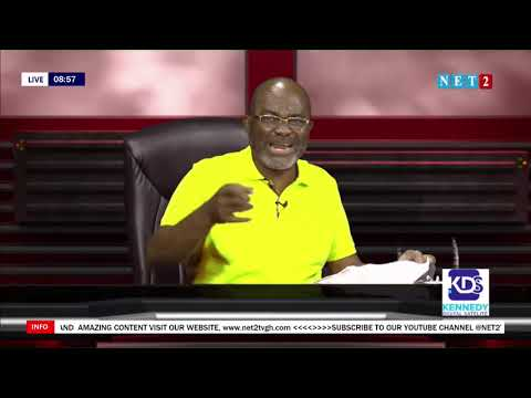 NDC'S PLAN IN NOVEMBER IS WORSE THAN WHAT IS HAPPENING THIS OCTOBER - HON. KEN AGYAPONG