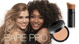 BRAND NEW FOUNDATION! BARE PRO! REVIEW / DEMO by Wayne Goss