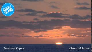 Kingston Norfolk Island  city images : Sunset from Kingston Norfolk Island