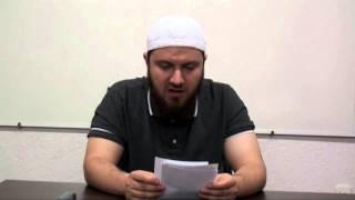 Urtësia e agjërimit -  Hoxhë Omer Zaimi