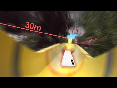 Lempar IPhoneX DiPerosotan Air 30 Meter BisaHancur? Atau Gak?