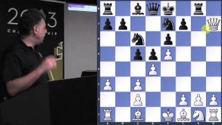 Opening Problems | Scotch | French | King's Indian - GM Yasser Seirawan - 2013.07.24