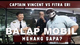 Download Video Fitra Eri VS Captain Vincent Raditya - Menang Mana? Bisakah Pilot Balap Mobil? - PILOT DIARY VLOG MP3 3GP MP4