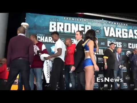 (0 To 100) Jermall Charlo Beefing With Adrien Broner And Tank At The Weigh In