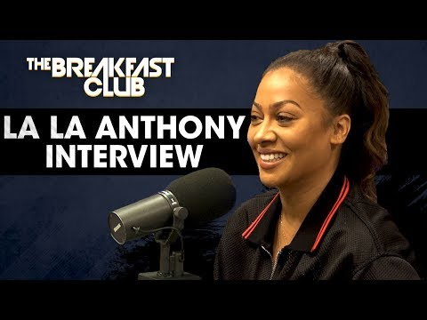 La La Anthony Talks Sex Scenes on Power, Carmelo Anthony & More (видео)