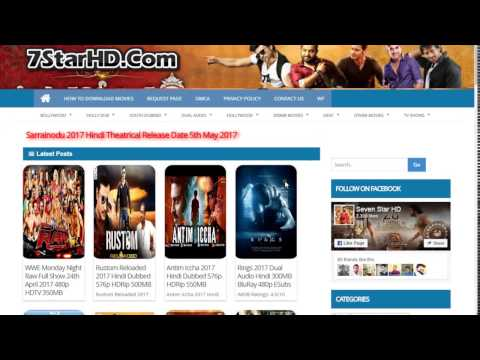 How To Download Movies On 7StarHD.Fans From PC Laptops or Mobile Phone