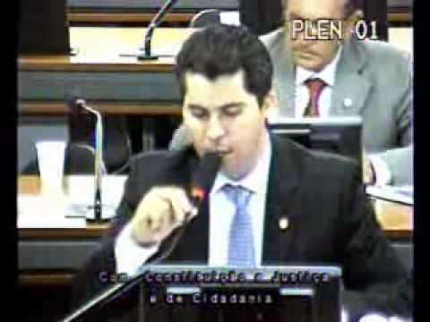 Deputado Marcos Rogério debate Lei da Palmada na CCJ