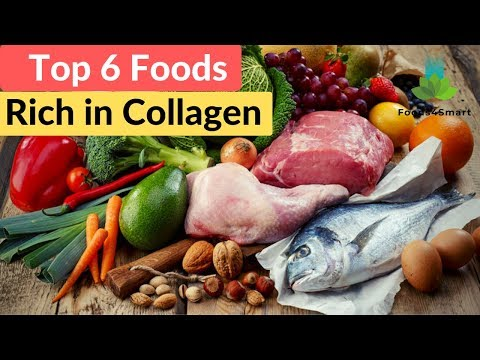 Top 6 Foods Rich In Collagen | How To Restore Collagen In The Face? | Healthyfoods4life