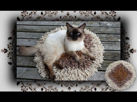 DIY 😻 Vorlege Teppich für Katzentoilette   Cat Litter Mat