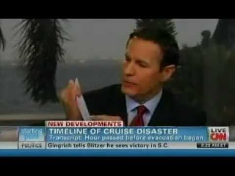 Maritime Lawyer Jack Hickey Discusses Costa Concordia Disaster Timeline