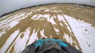 10. 2016 Kawasaki Brute Force 750 EPS Trails and Pit Riding