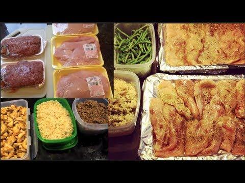 preparazione cibo per bodybuilder!!!