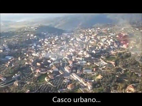 Volando hacia Castillo de Bayuela (Toledo) - Panorámicas aéreas nunca vistas...