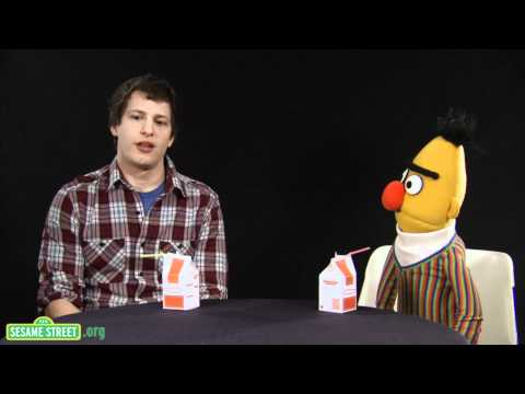 Saturday Night Live Sweden - Sesame Street's Bert sits down with comedian and Saturday Night Live cast member, Andy Samberg, to talk about life, literature, cuisine and of course, socks....