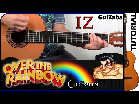 How To Play Over The Rainbow 🌈 / Guitar Tutorial 🎸