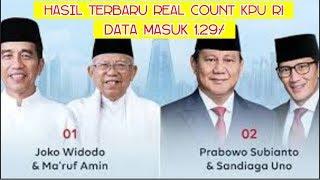 Video Terbaru!. Real Count KPU RI Jum'at 19 April 2019. Data Masuk 1,29%.  Suara Prabowo Naik Jokowi Turun MP3, 3GP, MP4, WEBM, AVI, FLV April 2019