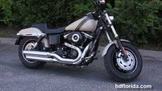 4. New 2014 Harley Davidson Fat Bob motorcycles Models change lineup
