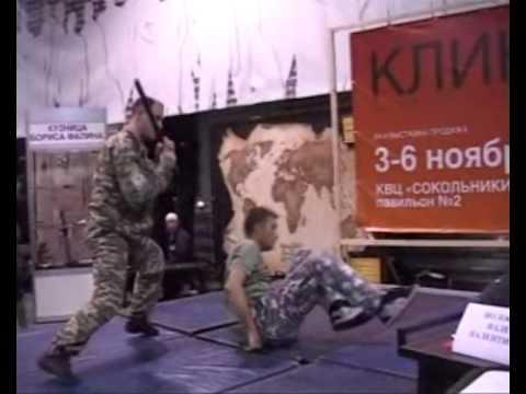 Мастер - класс по боевому самбо с В.Волостных - DomaVideo.Ru