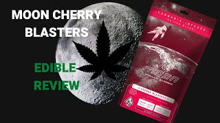 MOON Intergalactic Milligramage: Cherry Blasters. A weed edible with escape velocity. by  Weeats Reviews