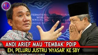 Video Ngakak Poll! Andi Arief Mau 'T3mb4k' PDIP Soal IMF, Eh, P3luru Justru 'Ny4sar' ke SBY! MP3, 3GP, MP4, WEBM, AVI, FLV Januari 2019