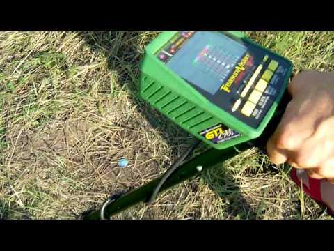 "Тест Garrett GTI 2500 на медную монету NEL Tornado и 12,5"" Garrett"