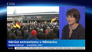 Nárůst extremismu v Německu