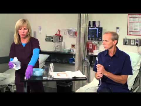 Oregon Urology Catheter Care Irrigation