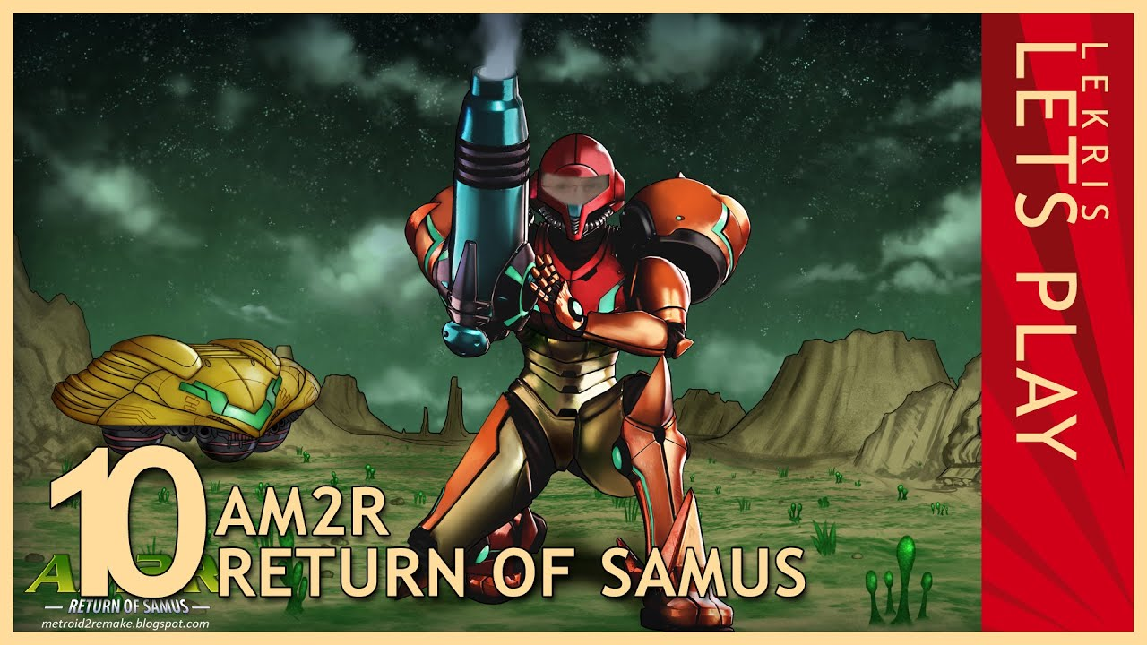 Let's Play AM2R - Return of Samus 1.0 Full Version #10 - Robot Factory - Space Jump - Torizo