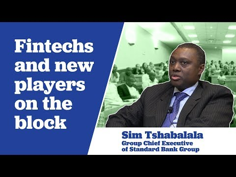 Sim Tshabalala on Fintechs and New Players on the Block