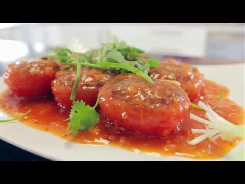 Dining with Dianne: How to make Stuffed Tomato with Pork Mince