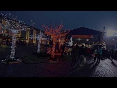 Bożonarodzeniowy klimat na jarmarku