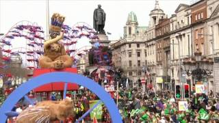 Dublin and the World celebrate St Patrick's Day 2014
